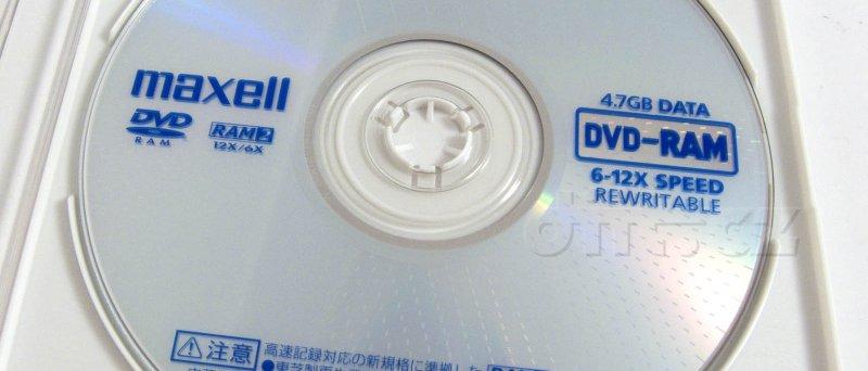 DVD-RAM Maxell 12×