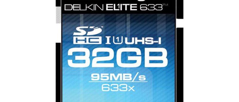 32GB SDHC UHS-I karta Delkin Elite 633