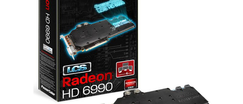 PowerColor Radeon HD 6990 s vodním chlazením (LCS HD6990)