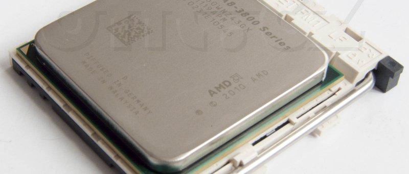 AMD A8-3850 APU v socketu FM1