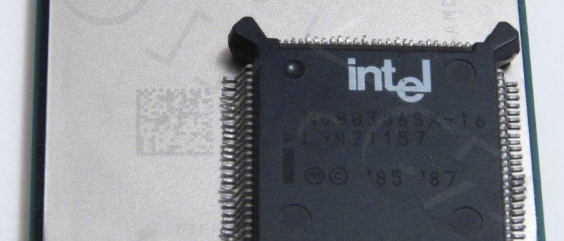 AMD FX-8150 v porovnání s Intel 386SX-16 ;-)