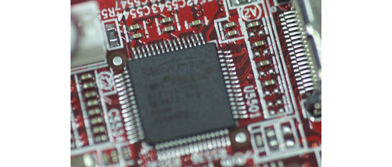 detail na ″HDCP čip″