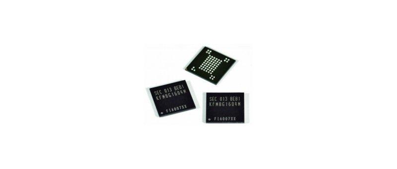 Samsung NAND flash SLC 8Gbit čip
