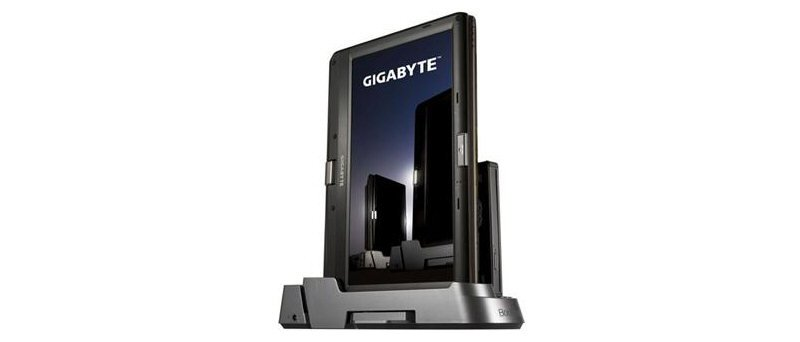 Gigabyte Booktop T1125 v docku