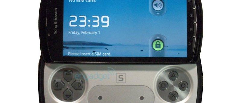 Sony Ericsson PSP Phone (?)