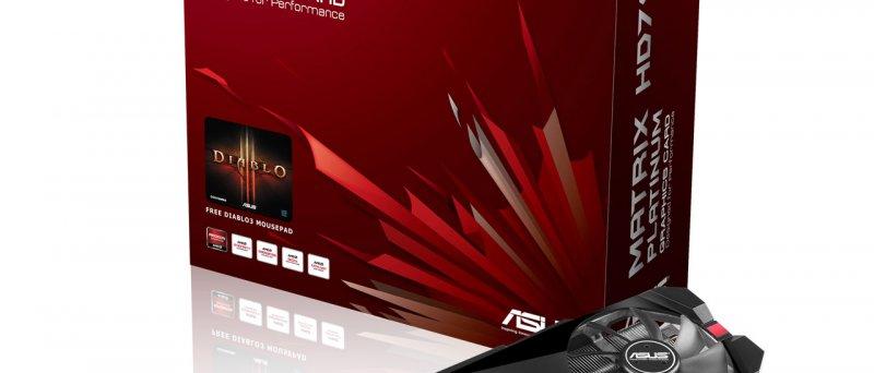 ASUS ROG MATRIX HD 7970 Graphics Card Platinum Edition