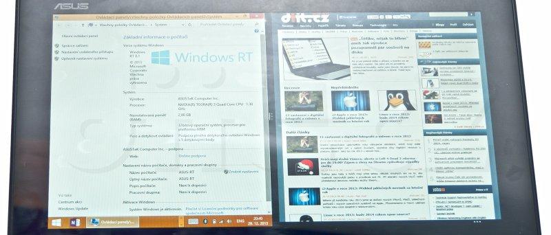 ASUS VivoTab RT s Windows RT 8.1