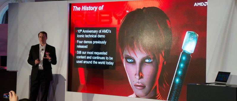 Computex 2013 - AMD Richland Kaveri Ruby 02