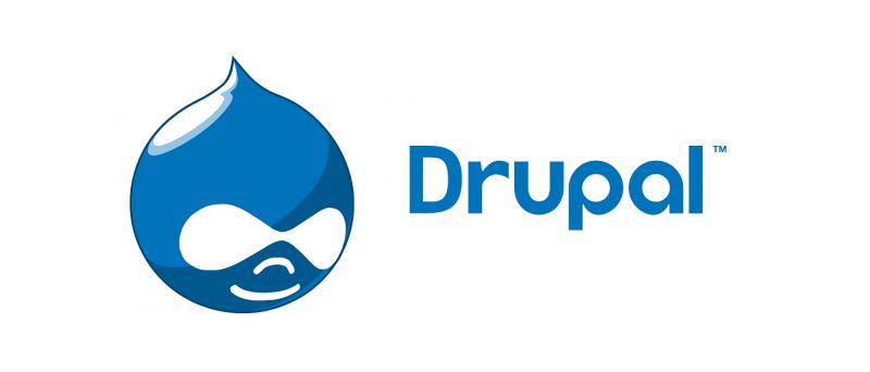 Drupal Logo Text