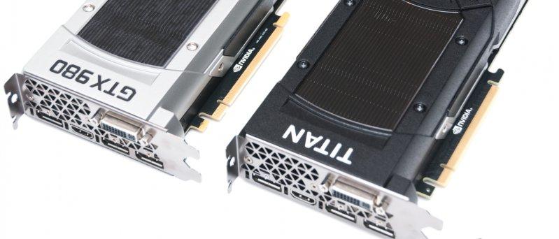 Geforce Gtx 980 Vs Geforce Gtx Titan X