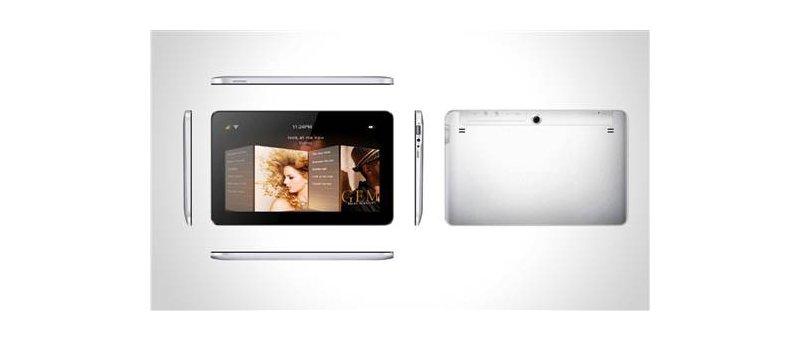 7″ a 10″ tabletové riešenia na kľúč od WonderMedia