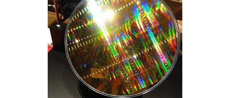Toshiba, wafer s 19nm MLC NAND flash čipy