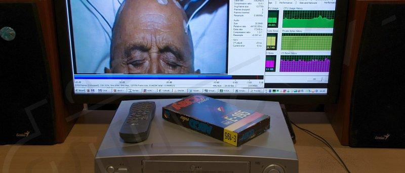 VHS: grabování filmu Fantastická cesta
