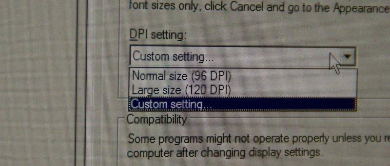 LCD DPI
