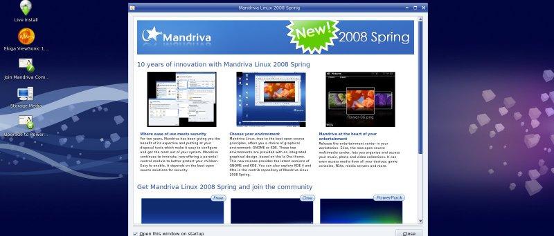Anička 008 - Mandriva 2008 Spring
