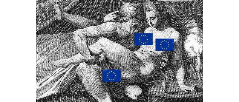 Pohlavní styk v mytologii: Jupiter a Junona - cenzurovaná EU verze