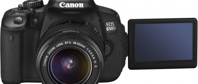 Canon EOS 650D + 18-55_
