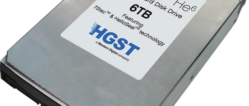 HGST helium 6TB