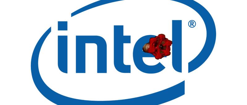 Intel + Valve fake logo