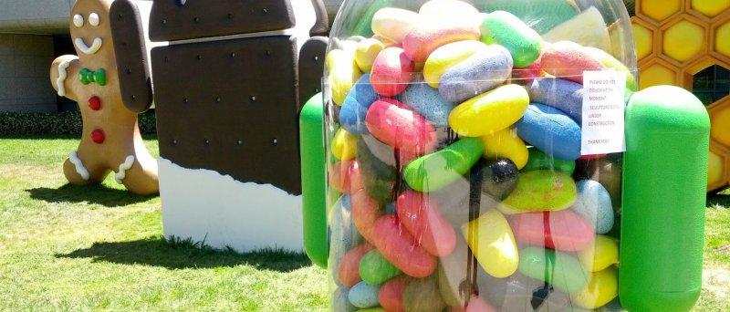 Android 4.1 Jelly Bean logo, techtv101