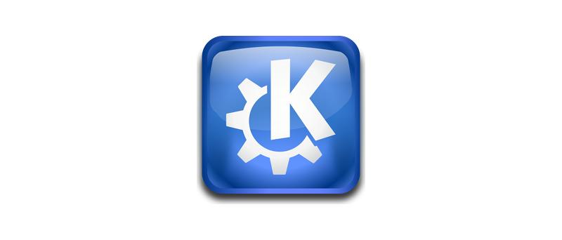 KDE logo 2013
