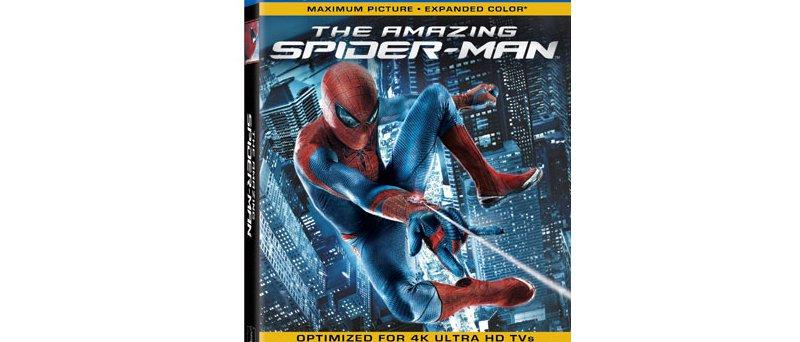 Spiderman Mastered in 4k