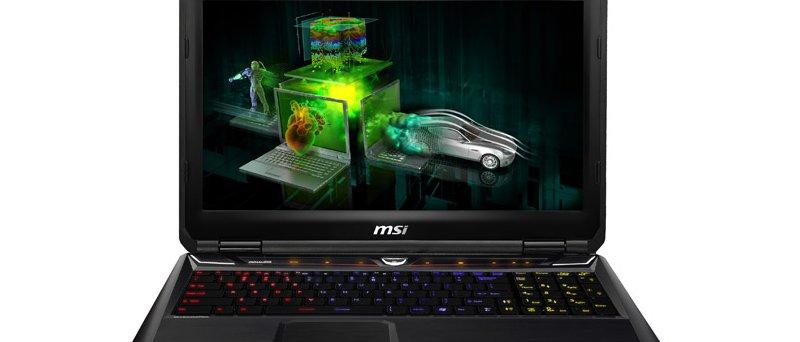 MSI GT60 s Quadro K2000M