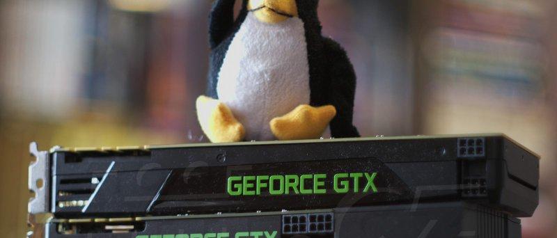 GeForce Linux logo