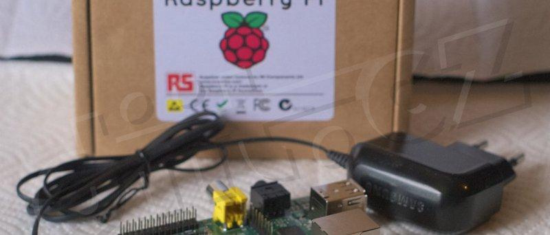 Raspberry Pi a microUSB nabíječka Samsung