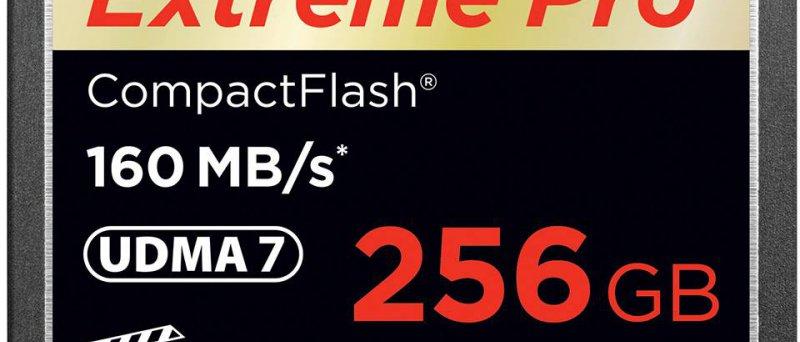SanDisk 256GB CompactFlash