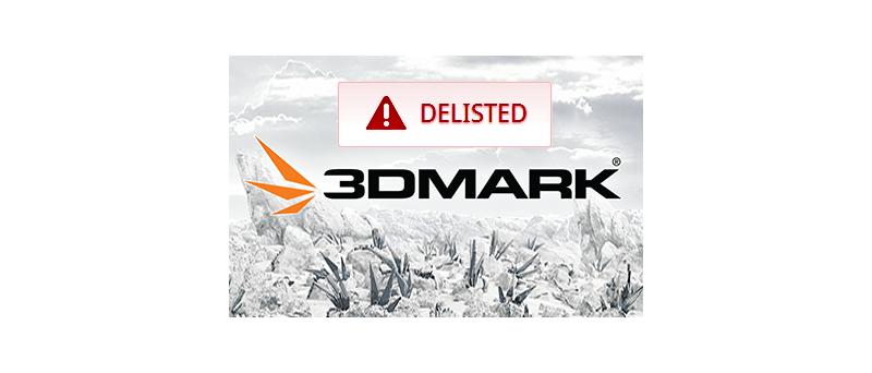 3D Mark logo delisted