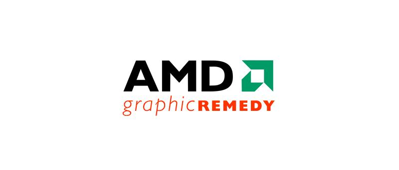Graphic Remedy AMD logo (akvizice)