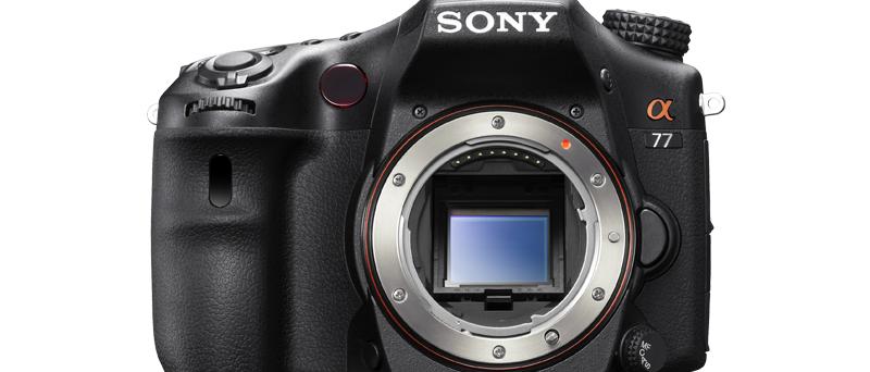 Sony SLT-A77 bez objektivu