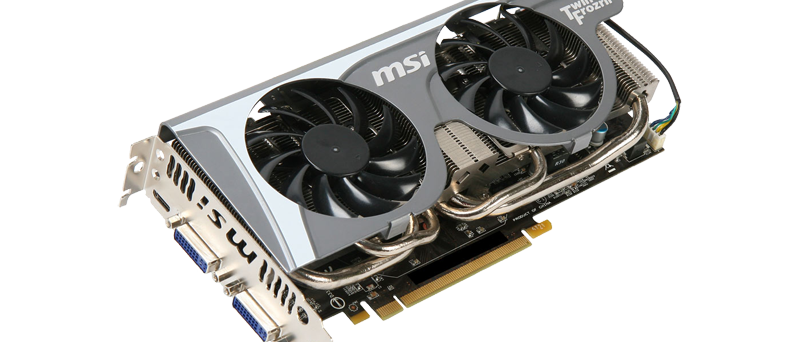 MSI GeForce GTX 560 Ti Twin Frozr II - N560GTX-Ti