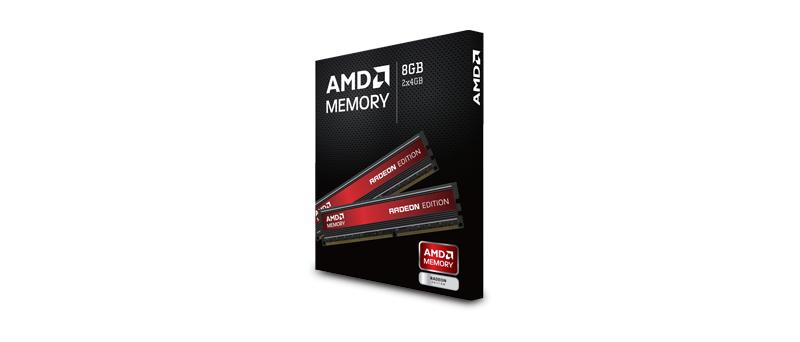 AMD memory, Radeon memory