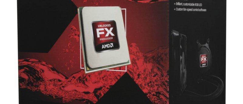 AMD FX-9000 watercooled box