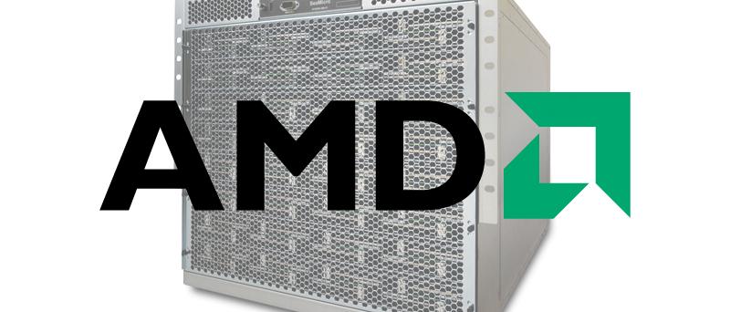 AMD logo SeaMicro server