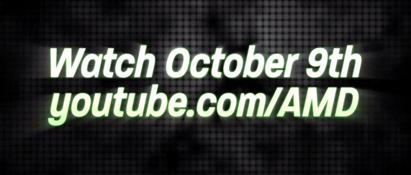 AMD October 9th 2012 teaser