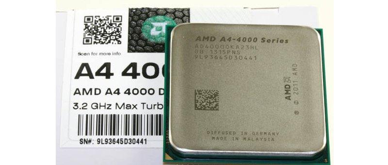 AMD Richland A4-4000