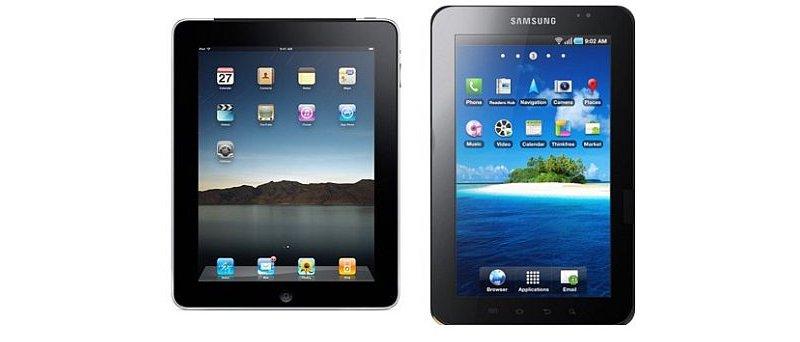 Apple ipad vs Galaxy Tab