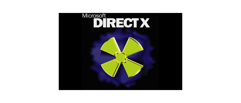 DirectX logo staré