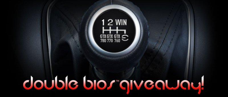 EVGA double BIOS GeForce GTX 700