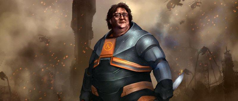 Gabe Newell - Half Life 3 by darrengeers