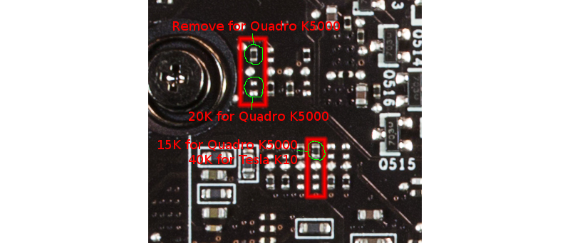 GeForce GTX 690 mod detail