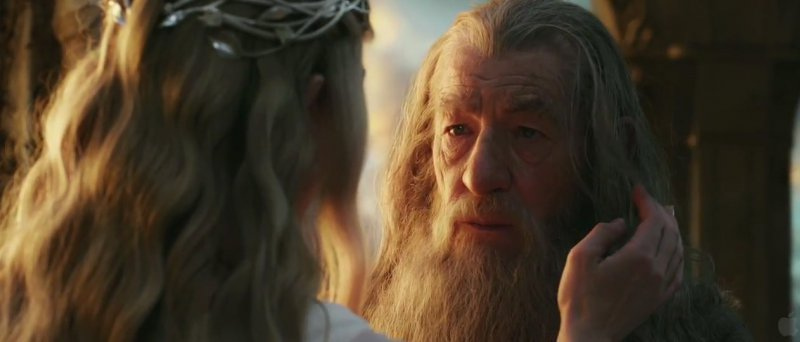 Hobbit trailer Gandalf