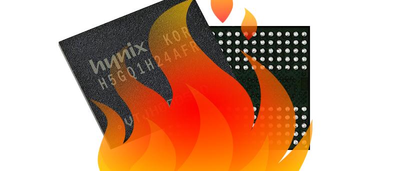 Hynix in fire