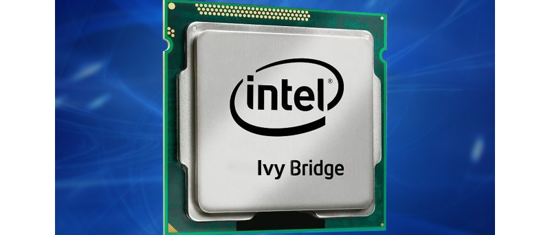 Intel Ivy Bridge blue