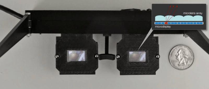 Nvidia light field stereo 3D