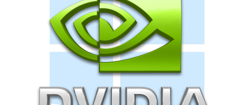 Nvidia logo na Windows 8 logo