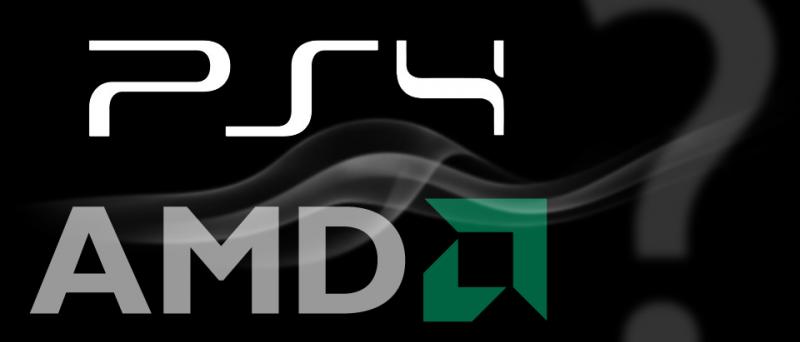 PlayStation 4 logo AMD